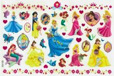 princesses Temporary Tattoo Sheets stickers Children Kids Birthday Party Bag