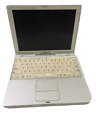 "Legacy 2002 Apple iBook A1005 12.1"" White For Parts Not Working"