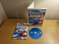 NINTENDO WII - EMERGENCY HEROES - COMPLETE WITH MANUAL - FREE P&P