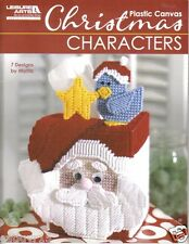 Christmas Characters in Plastic Canvas  ~ plastic canvas book