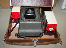 Vintage Polaroid Camera Model J66 w/Case Film Manual Extras
