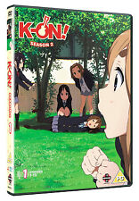 K-On! . Season 2 Part 1 . Episodes 01-13 . Anime . 2 DVD . NEU . OVP