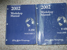 New Listing2002 Ford F-150 F150 Truck Service Shop Repair Manual Set Oem Factory 2 Volume