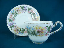 Paragon Country Lane Fluted Rim Bone China Cup and Saucer Set(s)