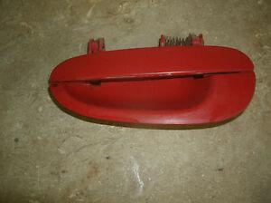 93-97 INTREPID/ CONCORDE/ VISION EXTERIOR LEFT REAR DOOR HANDLE/ RED