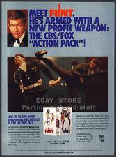 IN LIKE FLINT / OUR MAN FLINT__Original 1989 Trade print AD promo__JAMES COBURN