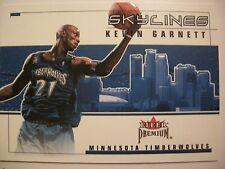 2002-03 FLEER PREMIUM SKYLINES KEVIN GARNETT , TIMBERWOLVES !! BOX # 46
