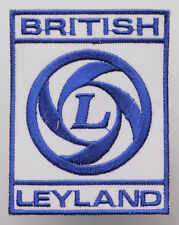 BRITISH LEYLAND Mini Cars Marque Logo Iron-On Patch - MIX 'N' MATCH - #4C08
