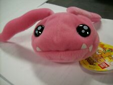 "Koromon Digimon Plush 6"" Bean Bag Bandai Japan New"