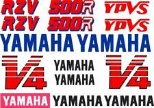 RZV 500R Dark Blue Shadow and Dark Blue Bellypan YAMAHA'S Decal Kit