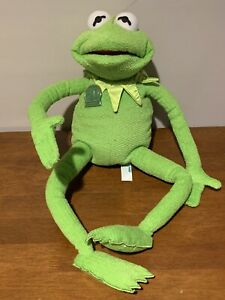 "Talking Kermit the Frog 30th Anniversary Doll Vintage Tyco 1999 Henson 18"""