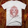 Muay Thai T-shirt MMA, UFC, Jiu Jitsu Fight Club Thai Box Sak Yant Tattoo Tiger
