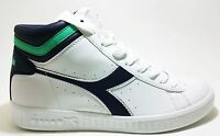 DIADORA GAME P HIGH scarpe sportive donna sneakers casual bianco tennis running