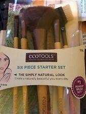 EcoTools Six Piece Starter Collection Makeup Brush Set ~New