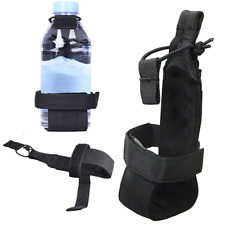 Durable Nylon Tactical Hiking Camping Water Bottle Holder Belt Carrier Pouch Bag