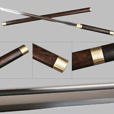 HANDMADE JAPANESE KATANA NINJA SWORD 1060 CARBON STEEL STRAIGHT BLADE
