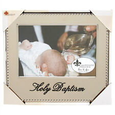 "LAWRENCE FRAMES Holy Baptism Photo Frame 4"" x 6"" NEW"