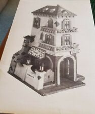 Dept. 56 Christmas In The City Series 1991 New Little Italy Ristorante #5538-7