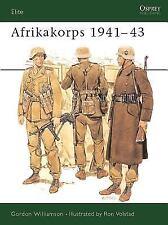 Afrikakorps 1941-43 (Elite), Gordon Williamson, Acceptable Book