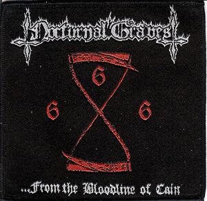 Nocturnal Graves Bloodline Patch Gospel Of The Horns Destroyer 666 Death Metal