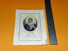 CHROMO 1860-1880 IMAGE PIEUSE CATHOLICISME VIERGE MARIE RELIGION DIEU