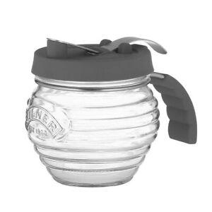 KILNER Sirupspender Honigspender Honigglas 0,4 Liter