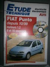 Fiat PUNTO essence 1.2 depuis 10/1999 : Revue technique Autovolt 795 +CD