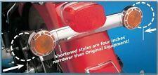 CHROME SHORT TURN SIGNAL BRACKET MOUNT HARLEY 74-14 FL FLST SOFTAIL OE 68510-74B