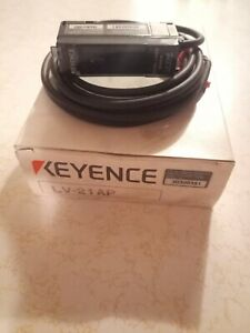 Keyence LV-21AP Digital Laser Sensor Amplifier Unit New Old Stock
