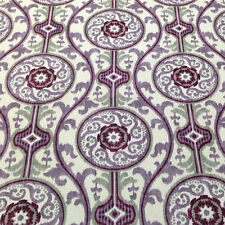 MAGNOLIA HOME OH SUZANI PLUM MEDALLION UPHOLSTERY FABRIC BTY $8.95/YD 84A4/100A4