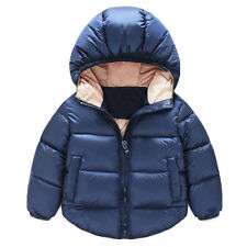Newborn Baby Kids Girls Boys Winter Warm Outerwear Jacket Children Snowsuit Coat