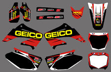 Team Graphics Decals For Honda CR125 CR250 2002 03 04 05 06 07 08 09 10 11 12 D1