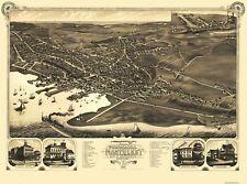 Nantucket Massachusetts - Stoner 1881 - 31 x 23