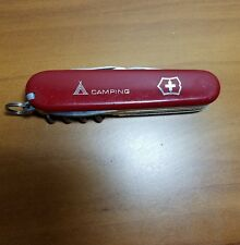VICTORINOX CAMPER--SWISS ARMY KNIFE--TENT--RED--POPULAR CAMPING & SCOUTING MODEL