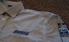 Men's AARON'S RENTS Furniture Rental Long Sleeve Oxford Sales Uniform Shirt XL
