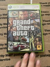 Grand Theft Auto IV Microsoft Xbox 360 Game No Manual