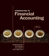 Introduction to Financial Accounting by Charles T. Horngren, Donna Philbrick, J…