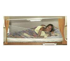911623 Rete Protezione letto bambini 60x200cm anticaduta camper  con ganci CSPG