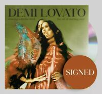 DEMI LOVATO SIGNED DANCING WITH THE DEVIL CD AUTHENTIC SOLD OUT W/COA+PROOF