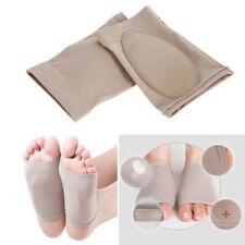 Silicone Gel Foot Fallen Arch Support Heel Cushion Insole Pain Relief Flat Feet