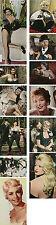 Sammlung von 12 frühen Farbfotos zu verschiedenen Filmen