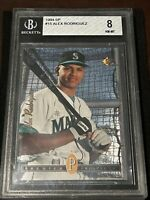 🔥9.5 SUBS🔥 1994 SP Baseball ALEX RODRIGUEZ FOIL ROOKIE, NR-MT BGS 8, Mariners