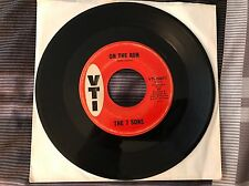"7 SONS ""On The Run/Baby Please Come Back"" 66 Sioux City Soul VTI 20671 VG"