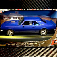 Pioneer J080217 Camaro SS350 Route 66 Blue Slot Car 1/32 Scalextric DPR