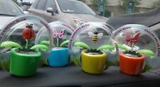 "USA 4 x  4.5"" Solar Powered Mini Swing Motion Dancing animal Desk Car Ornament"