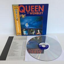 Queen at Wembly | Live Concert | Japan Laserdisc + OBI + Insert | LD: Excellent