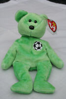 TY Beanie Baby - Kicks - RARE with Tag Error emmaculate condition