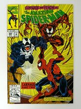 AMAZING SPIDER-MAN #362 Marvel Comics Carnage Part 2 Venom NM+ 1992