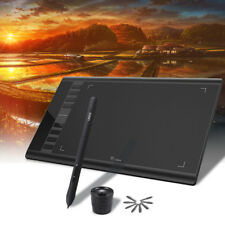 """Ugee 10""""x6"""" Digital Graphics Drawing Tablet PC Artist Board Pad Painting 5080LPI"""