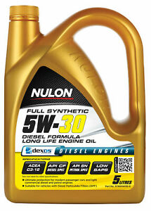 Nulon Full Synthetic Long Life Diesel Engine Oil 5W-30 5L SYND5W30-5